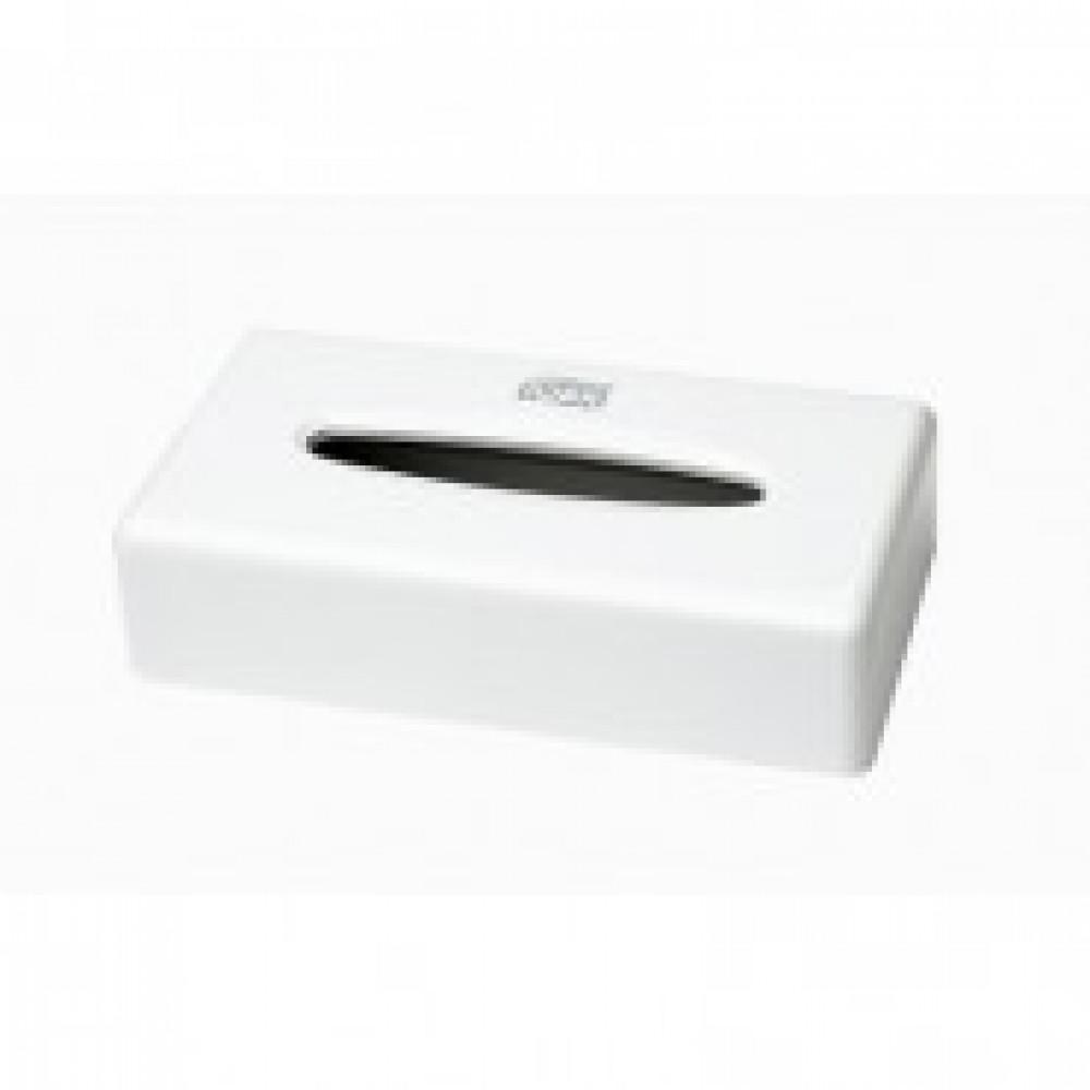 Держатель для салфеток косметических Tork F1 270023 пласт.белый