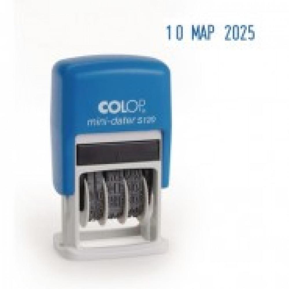 Датер автоматический мини S120 шрифт 3,8мм месяц букв.(аналог 4810)Colop