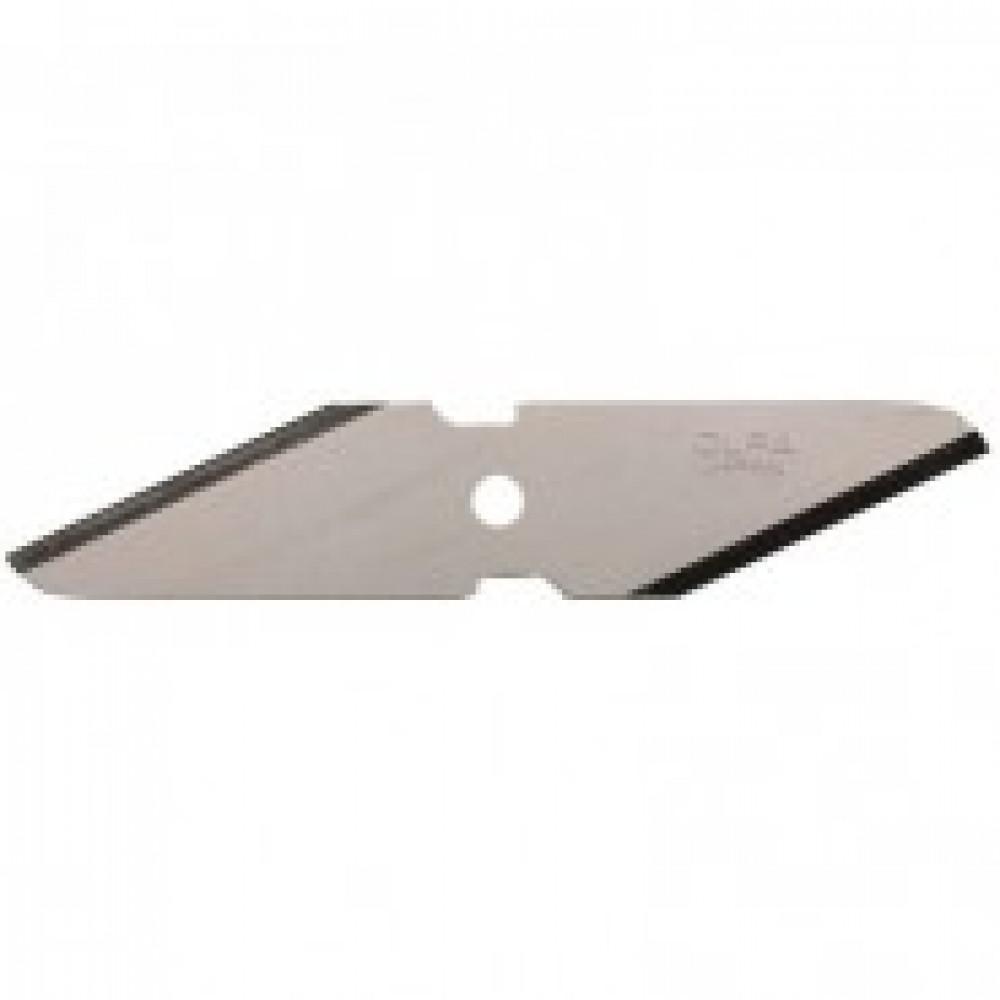 Лезвие запасное 2-х стороннее, для ножей OLFA CK-1 (544753), 2шт./уп