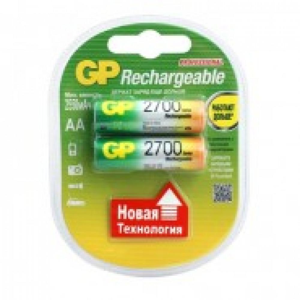 Аккумулятор GP 2700mAh AA/HR6 NiMH бл/2