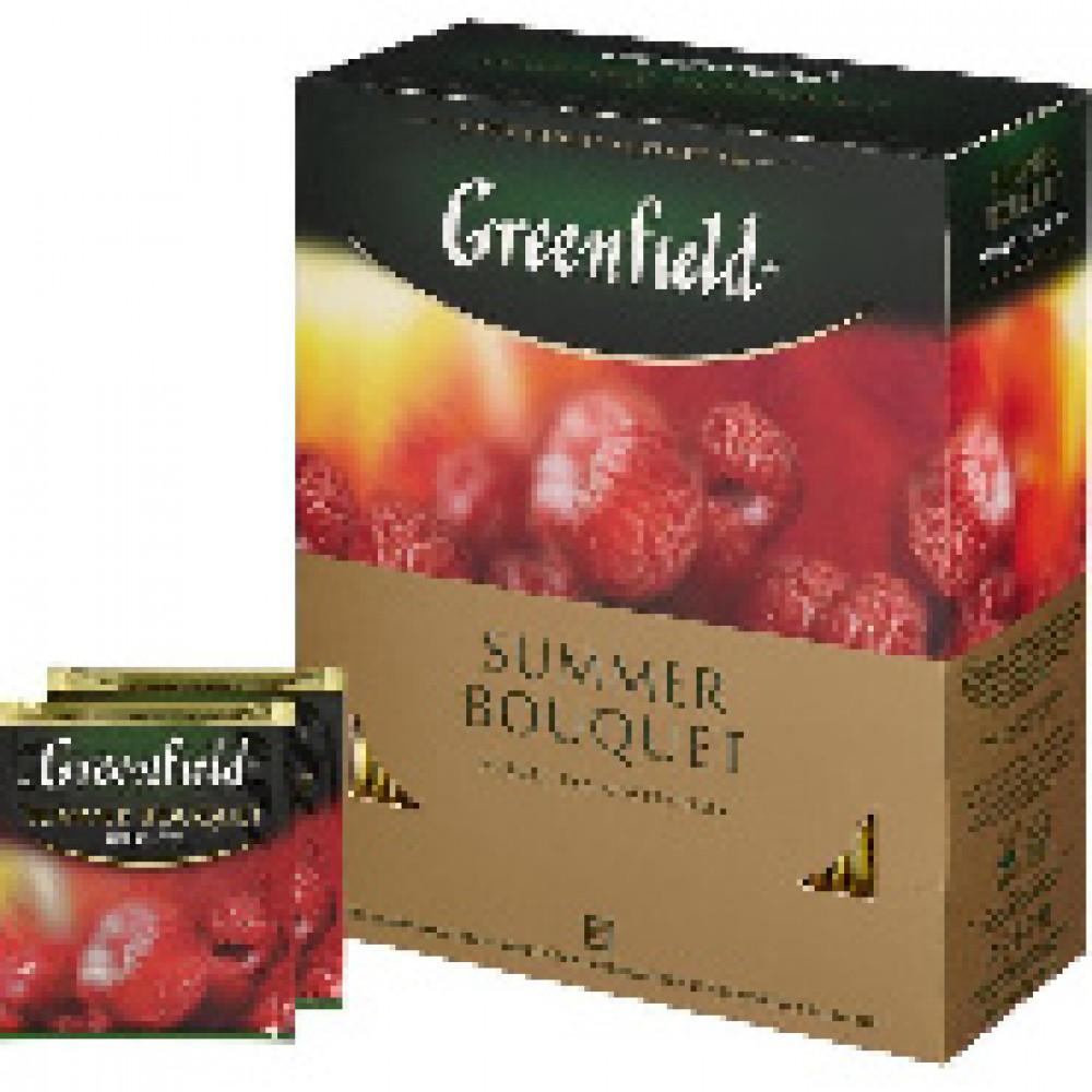 ГРИНФИЛД Самма Букет(2гх100п)чай.нап.пак.,327366