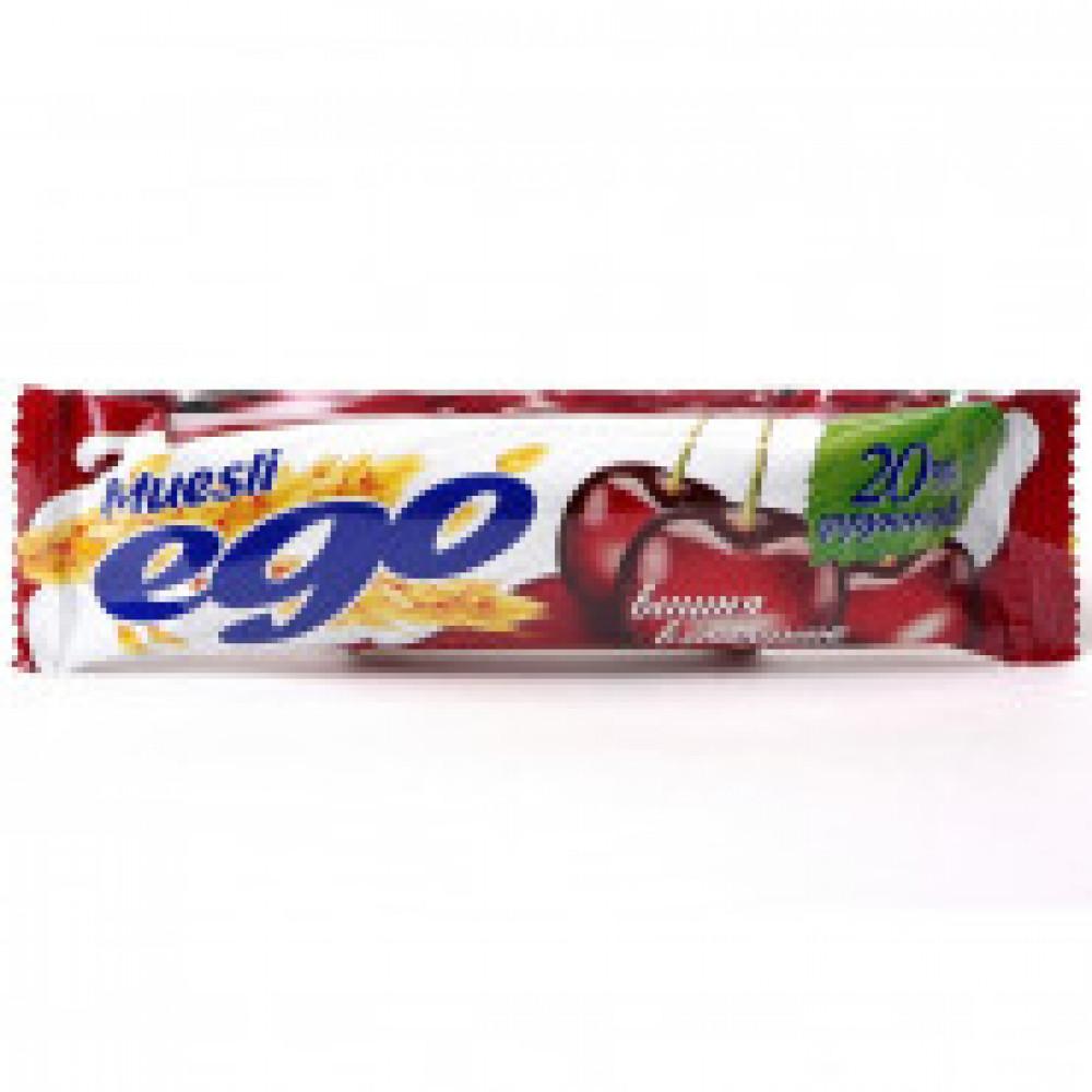 Батончик мюсли EGO вишня йогурт 35штx25г