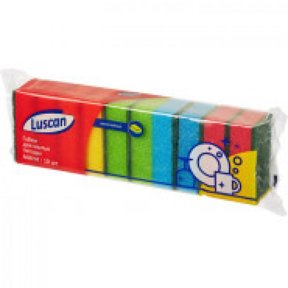 Губка Luscan для посуды  Мини  10 штук/упаковка 80х50х26 мм