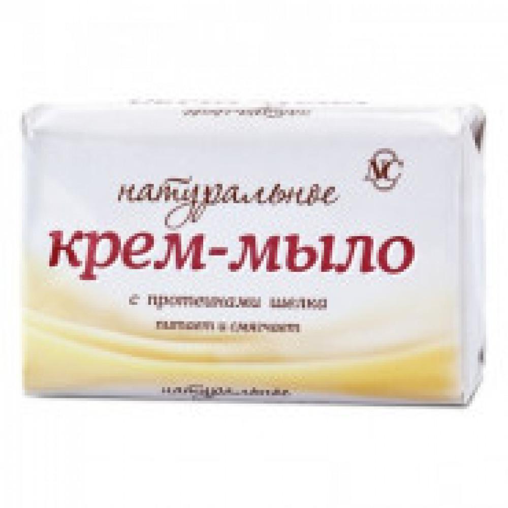 Крем-мыло Натуральное/шелк 90г