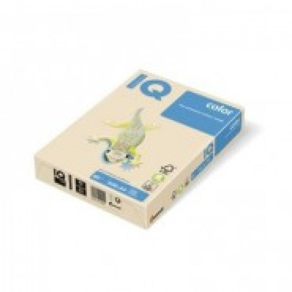 Бумага цветная IQ COLOR (А3,80г,CR20-кремовый) пачка 500л.