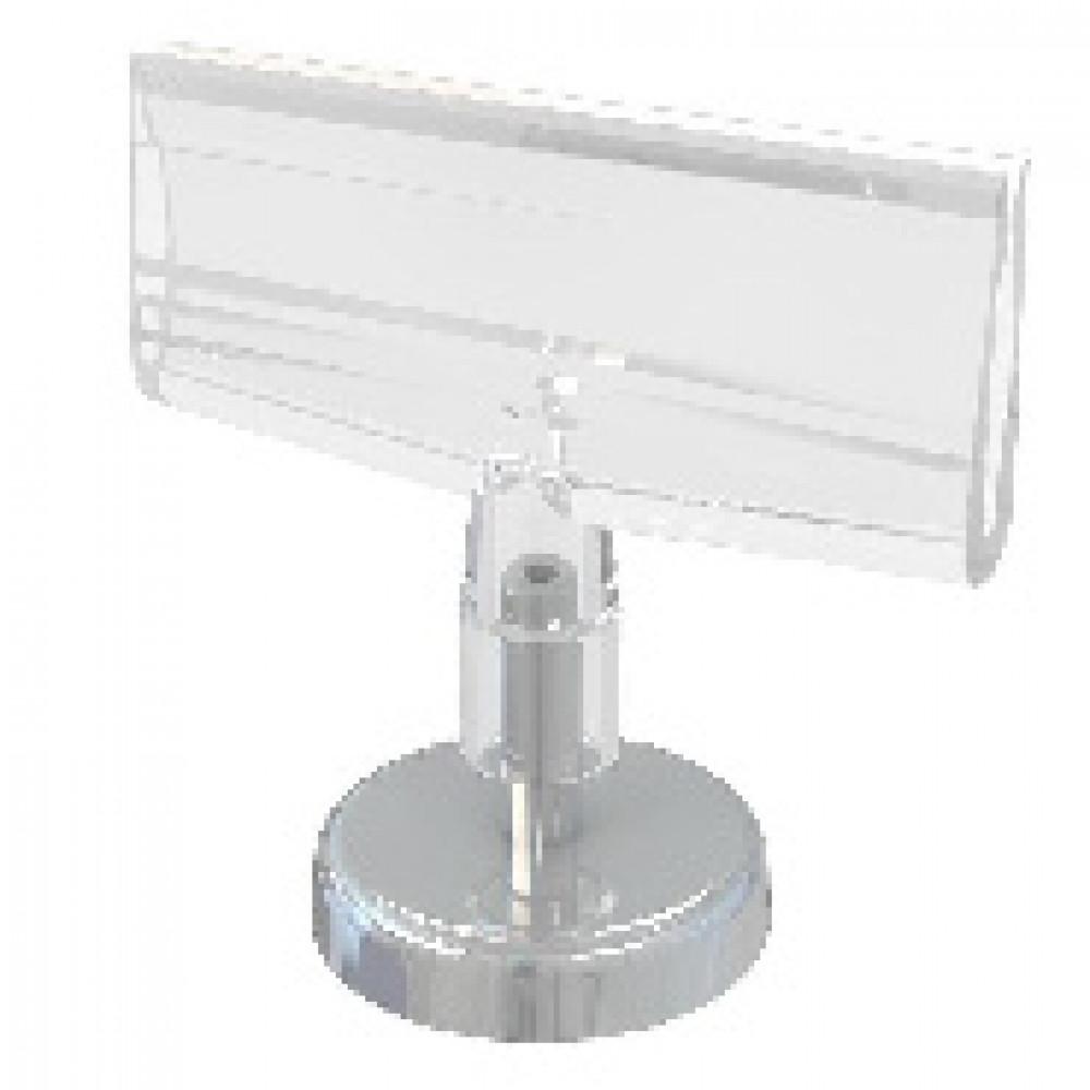 Держатель для ценника  магнитный с держателем для плакатов, 10шт/уп