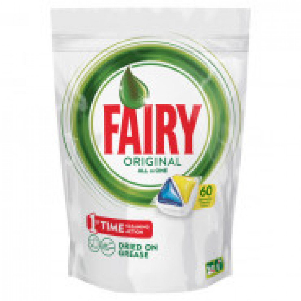 Капсулы д/посудомоечных машин Fairy Original All in 1 Лимон 60шт/уп