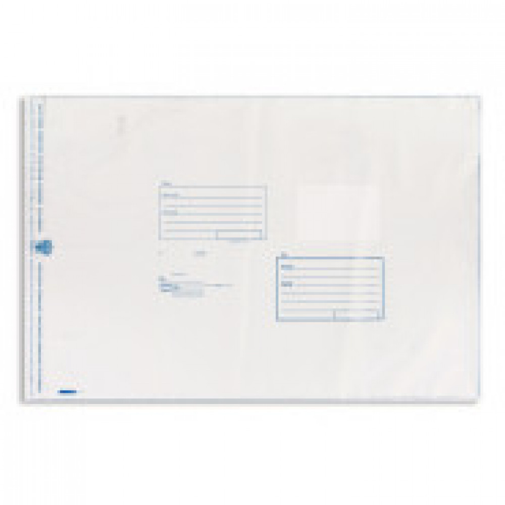 Пакет Amerplast 360x500 мм Куда-Кому из полиэтилена 70 мкм стрип