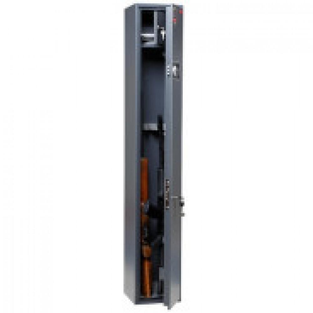 Сейф AIKO  Беркут-3EL , оружейный, 3 ствола, электр.+ключ.з.