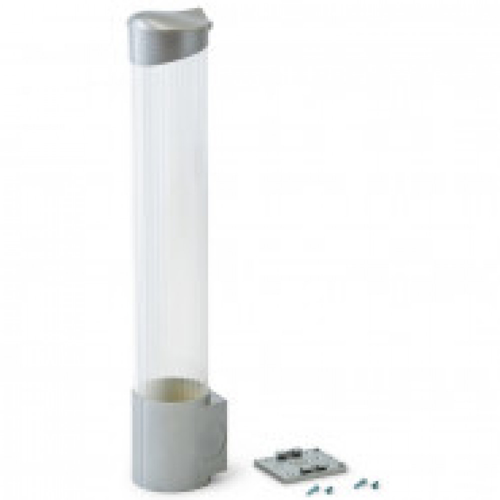 Держатель для стаканов VATTEN CD-V70SS на саморез серебрян цвета на 100стак