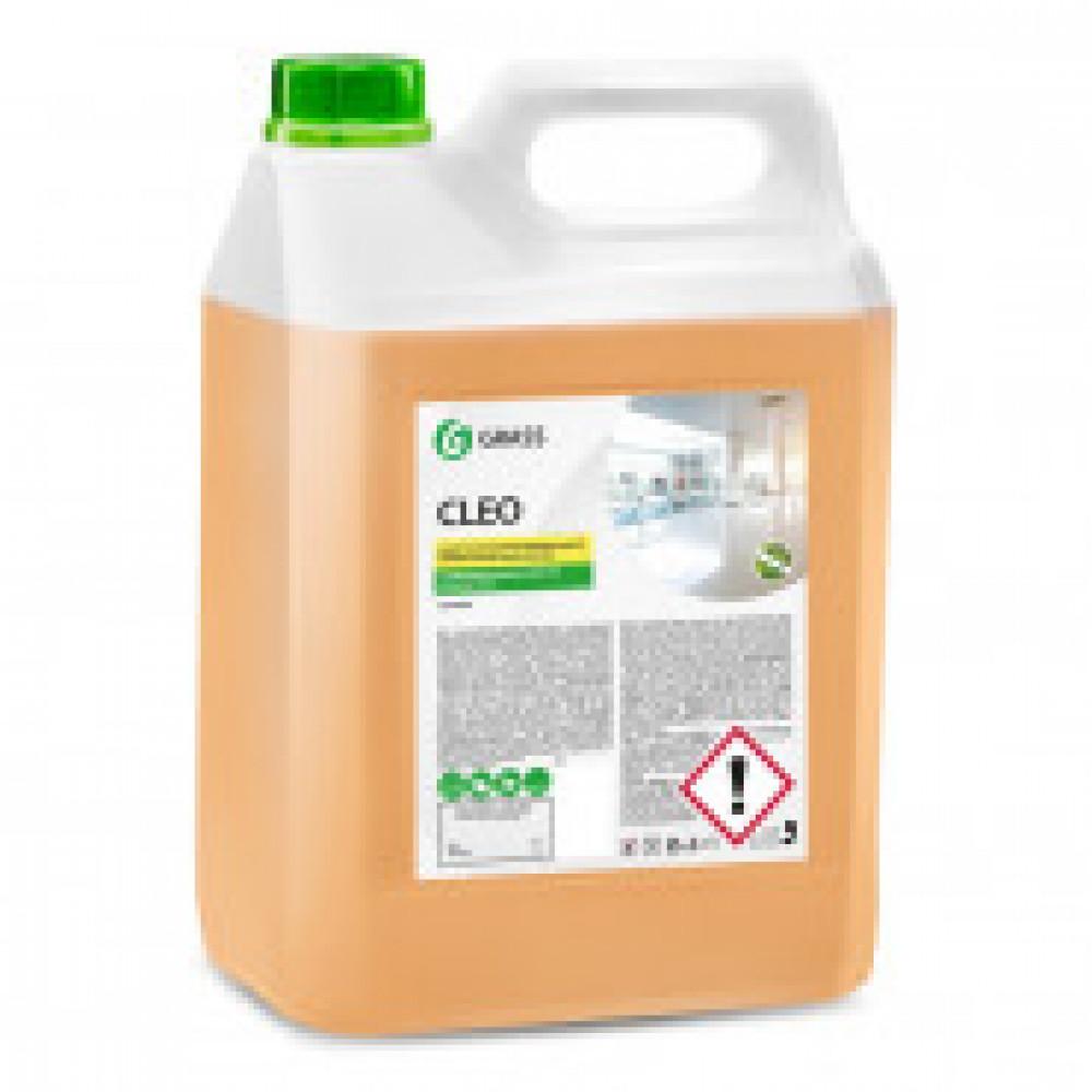 Профессиональная химия CLEO Grass 5л Универс. Щелочное  Антибактериал.Конц.