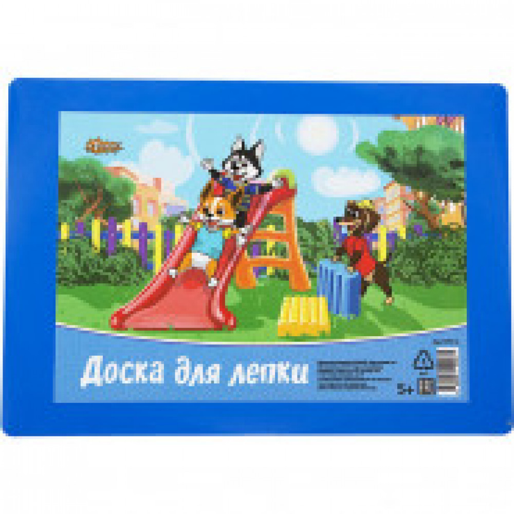 Доска для лепки №1School Шустрики А5,  цвет.