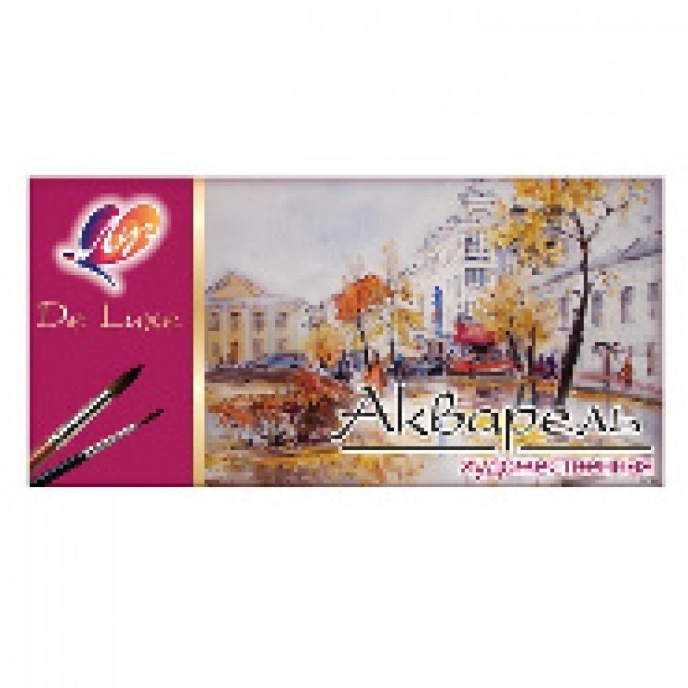 Акварельные краски Луч De Luxe медовые 24 цветов