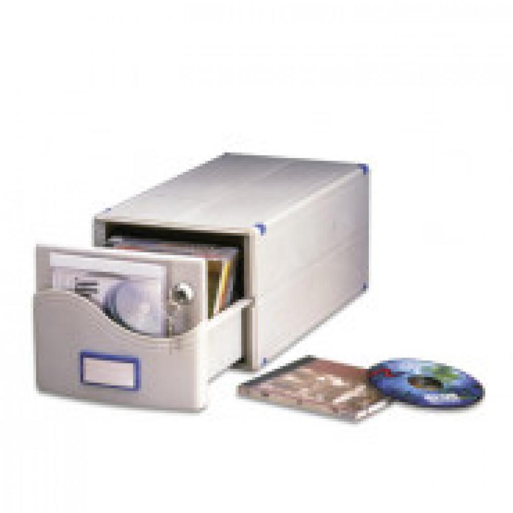 Бокс для CD/DVD дисков РО для 30 CD MB-30SL 185х150х375мм с замком