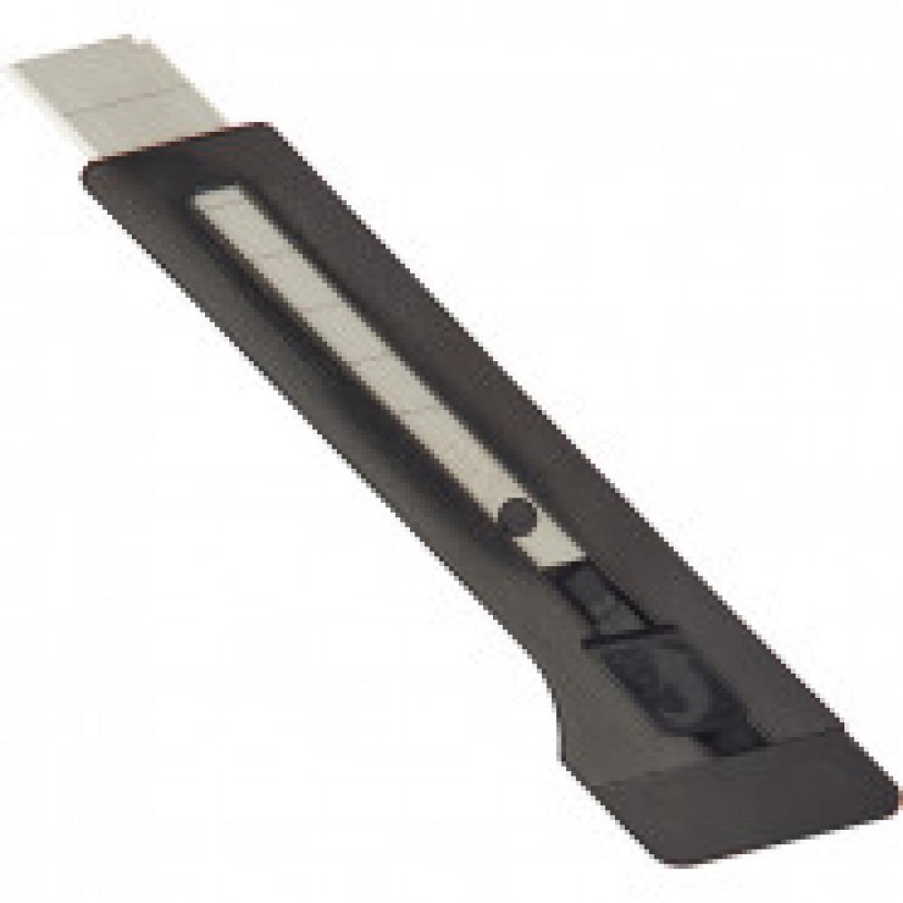 Нож канцелярский 18 мм EDDING (E-M 18) , с фиксатором, пластик, цвчерный