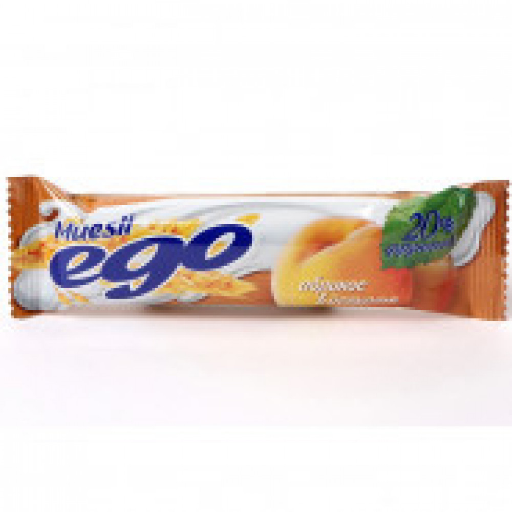 Батончик мюсли EGO абрикос йогурт 35штx25г