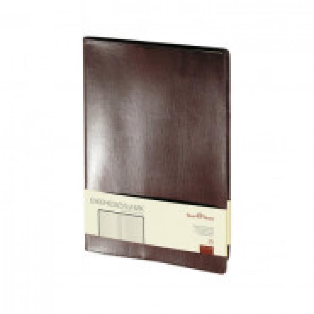 Еженедельник недатированный Bruno Visconti Profy натуральная кожа А4 64 листа коричневый (222x302 мм) (артикул производителя 3-098/03)