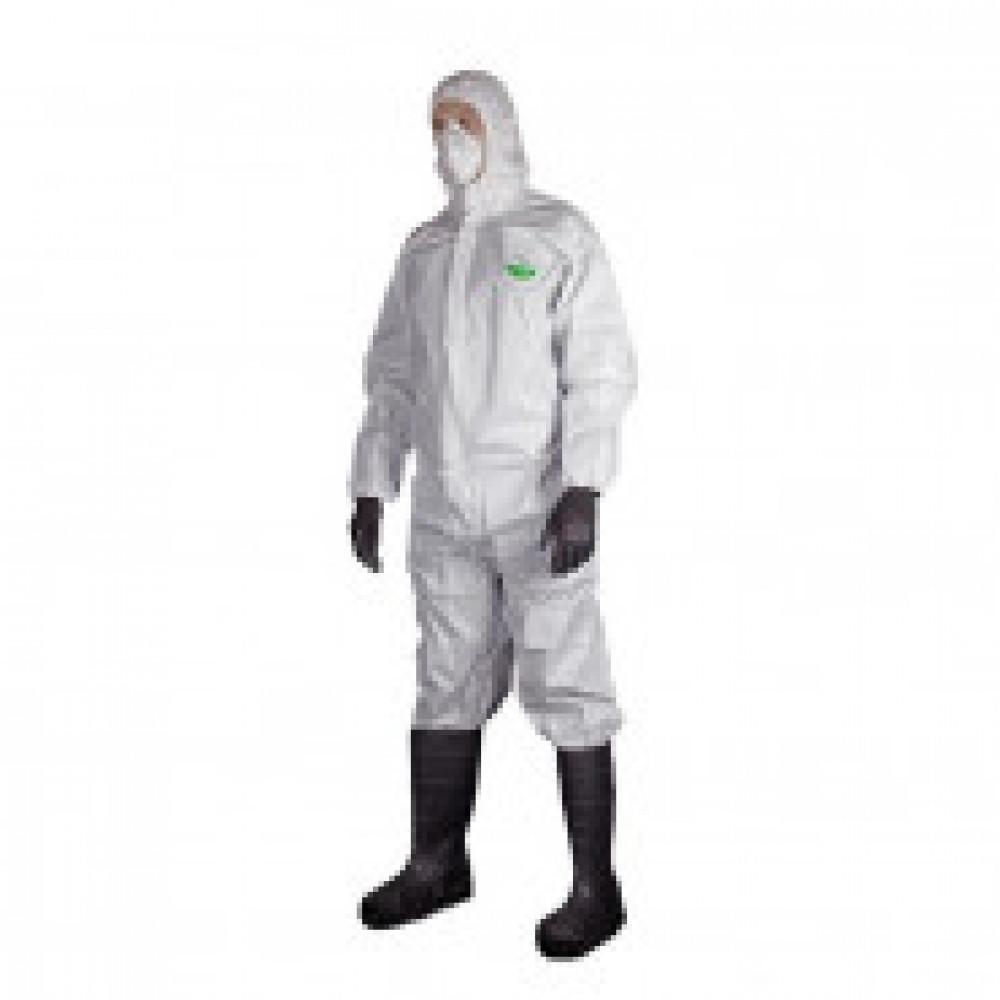 Одноразовая одежда Комбинезон с капюш MicroMAX NS белый р-р XL (EMN428)