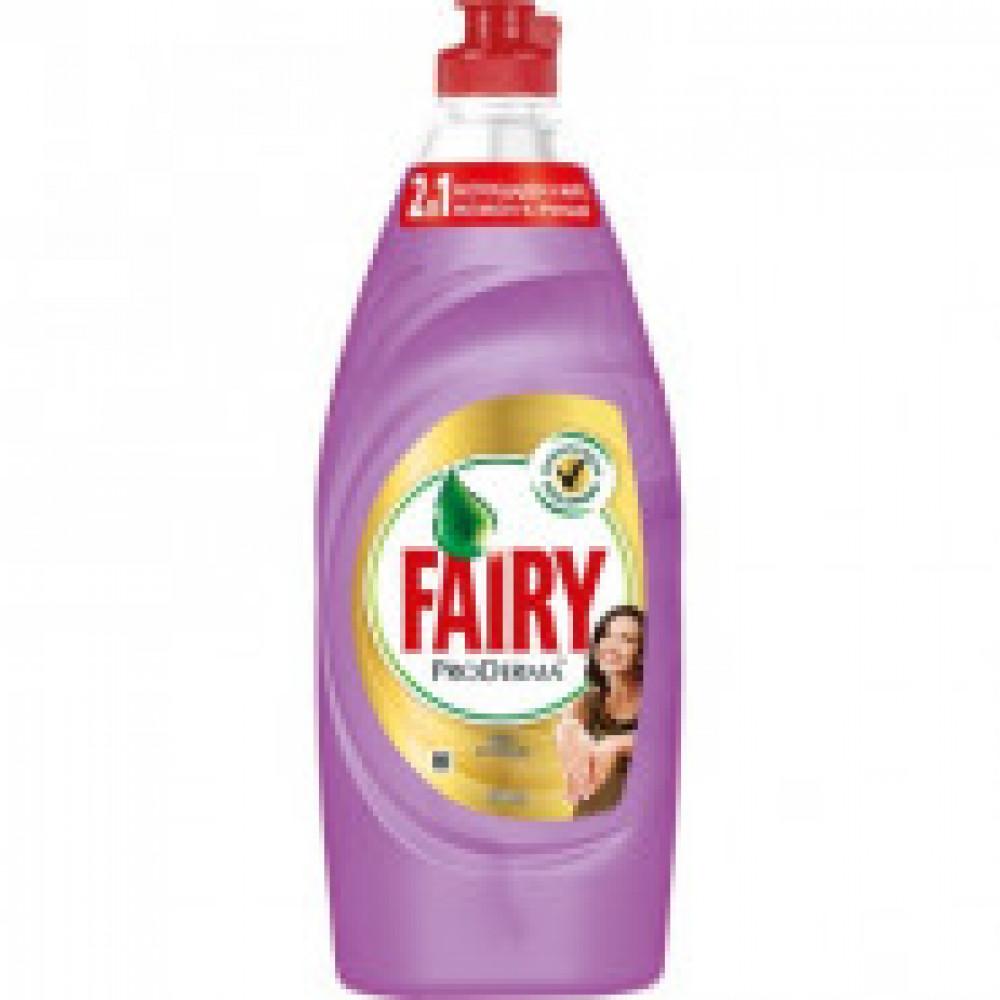 Средство для мытья посуды Fairy ProDerma Шелк и Орхидея 650мл