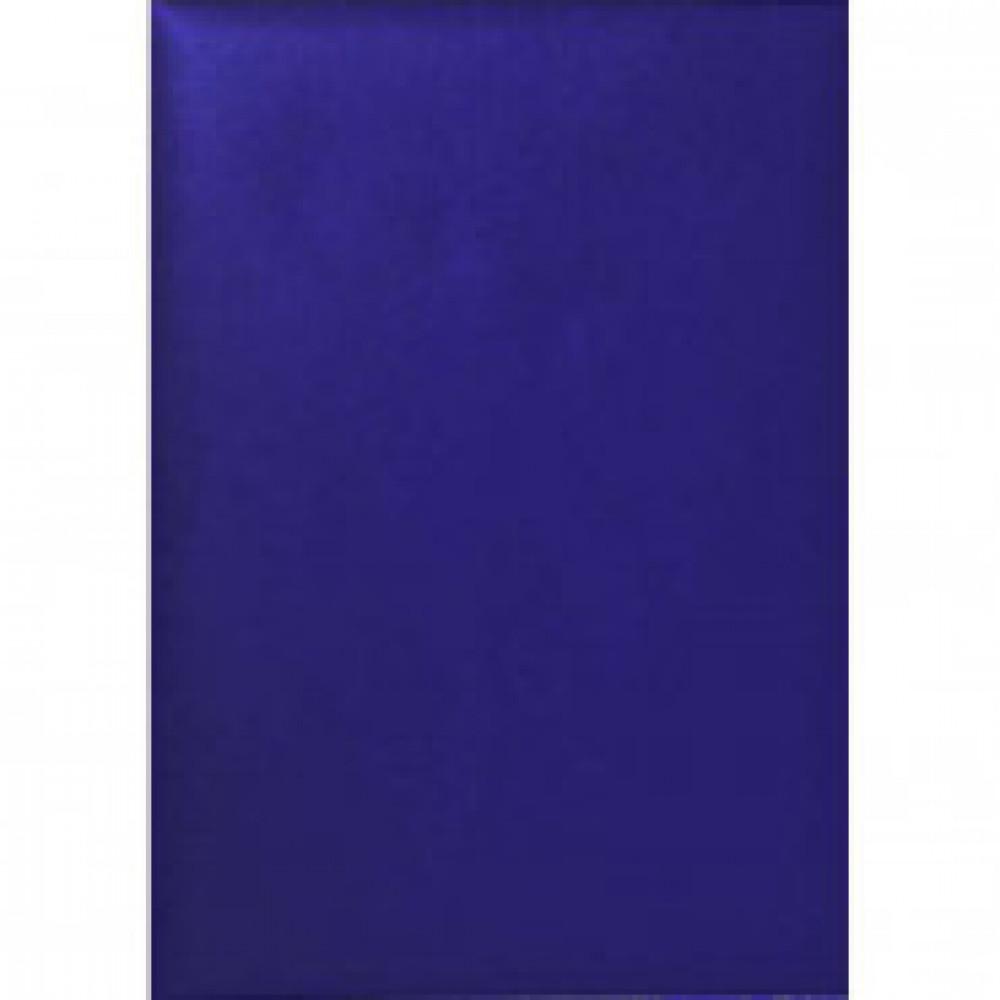 Папка адресная без тиснения бумвинил синяя. Упаковка 5 шт.