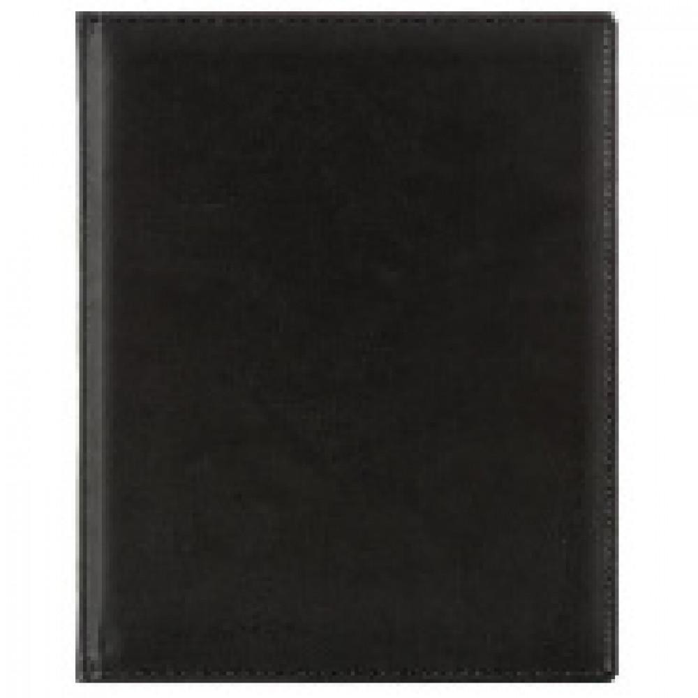 Еженедельник датированный 2020,черный,А4,215х265мм,80л АТТАСНЕ Вива
