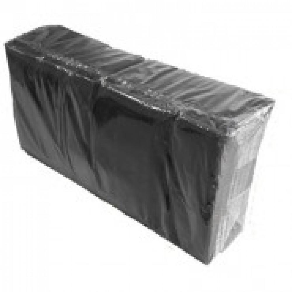 Салфетки 2-сл. 33х33 черные 200 шт./уп