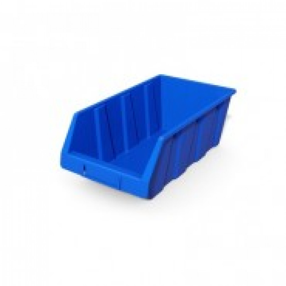 Метал.Мебель D_Ящик пластиковый Серия А (4 шт.) синий 230х400х150