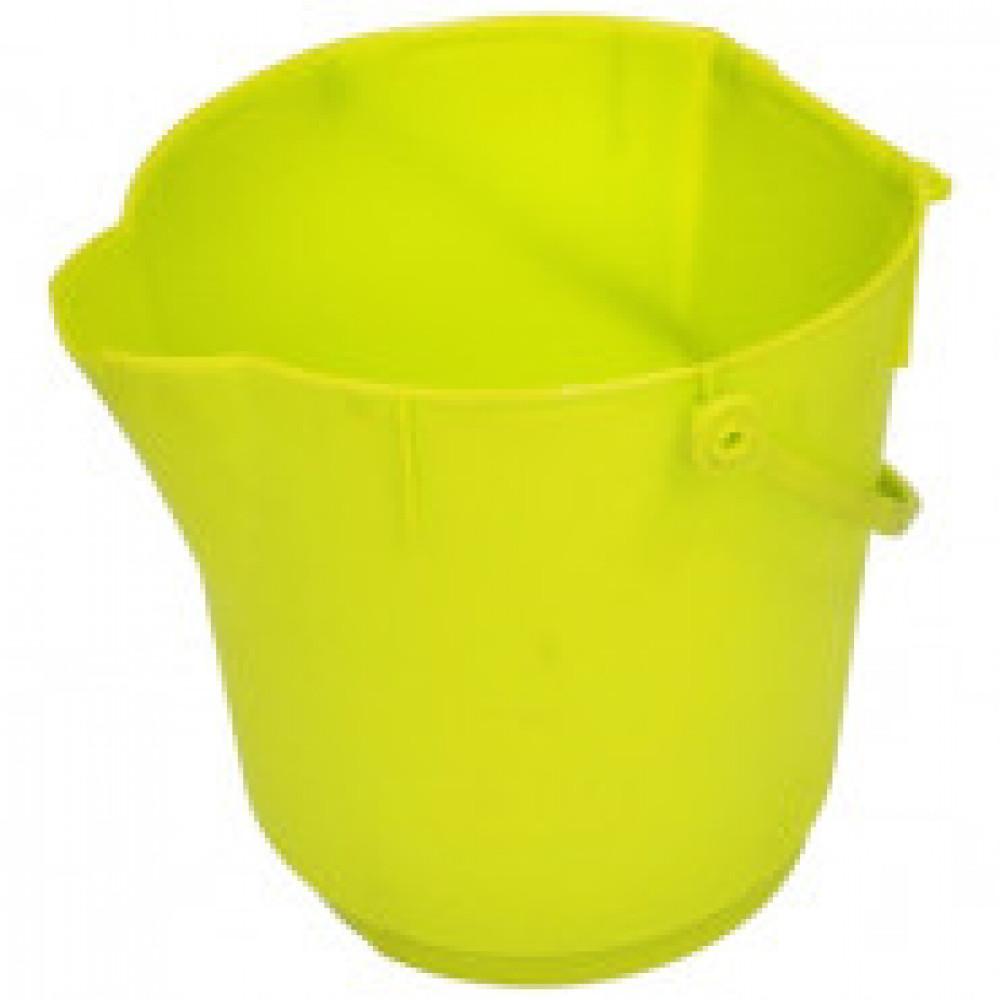 Ведро ультра гигиеническое 12 л 300х280мм MBK15 Y желтое