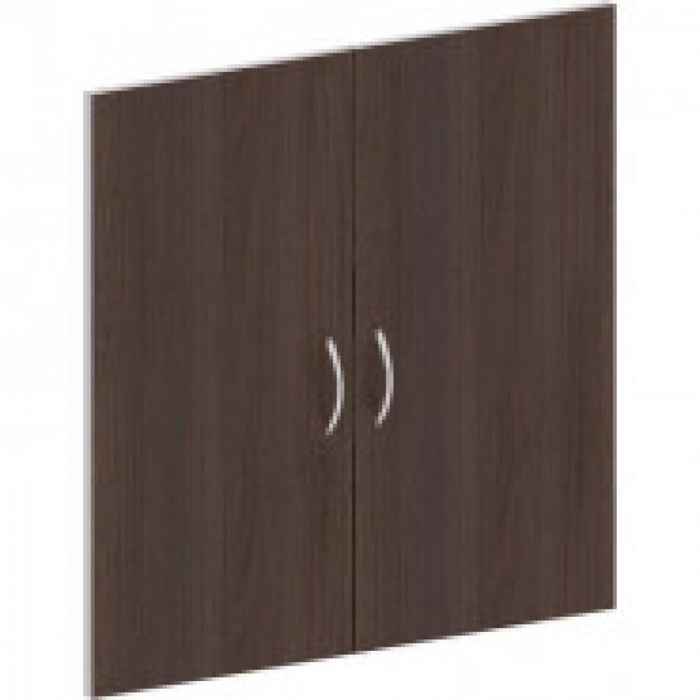 Мебель Easy St Двери низк. ЛДСП (2шт.) 904007 шале/сер.(112)