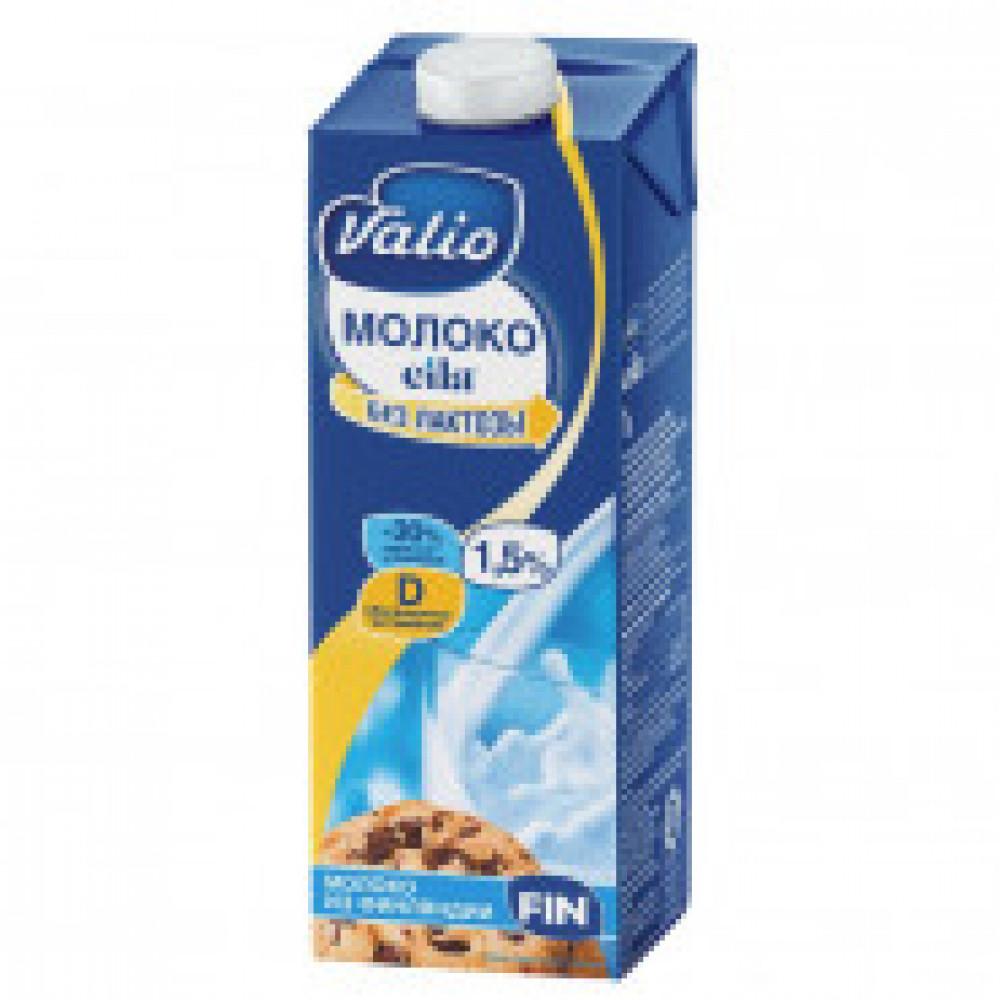 Молоко питьевое Valio Eila безлактозное c вит D 1,5%, 1л