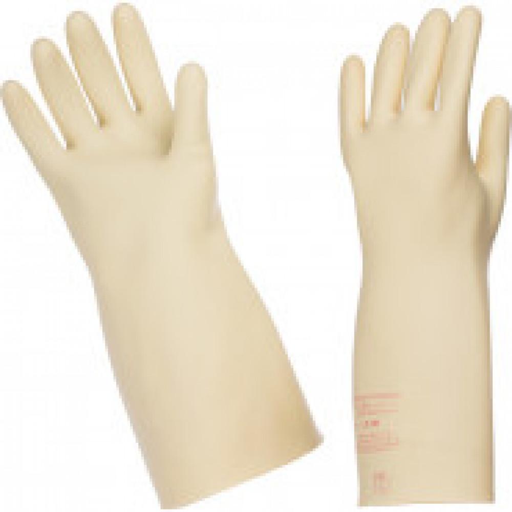 Перчатки защитные диэлектрические бесшовные латексные размер 2