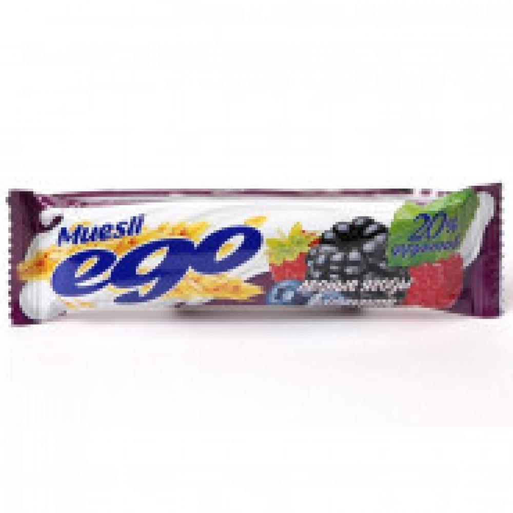 Батончик мюсли EGO лесное ассорти йогурт 35штx25г