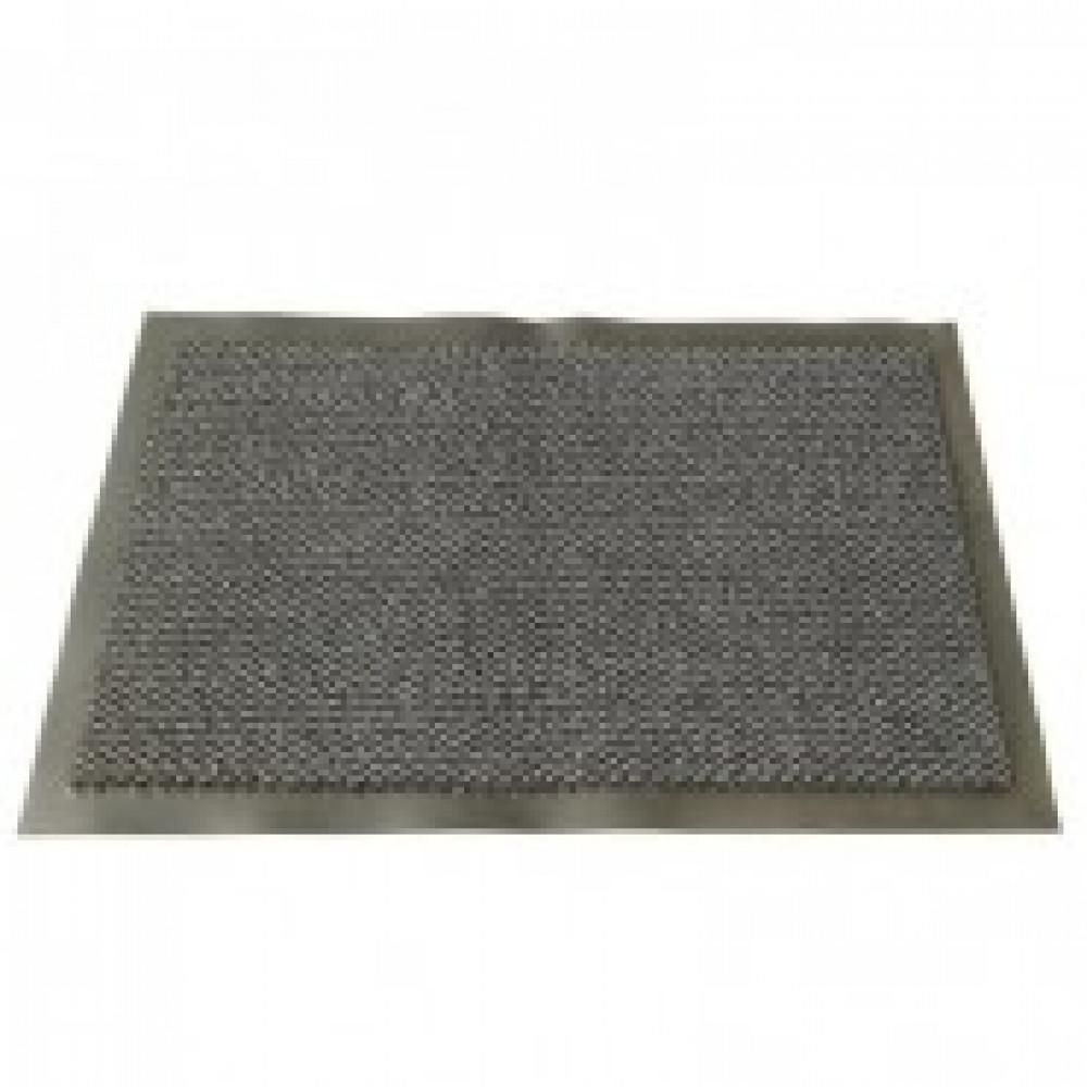 Ковер входной грязезащитный ворсовый на ПВХ основе(900х1500х8мм,серый)
