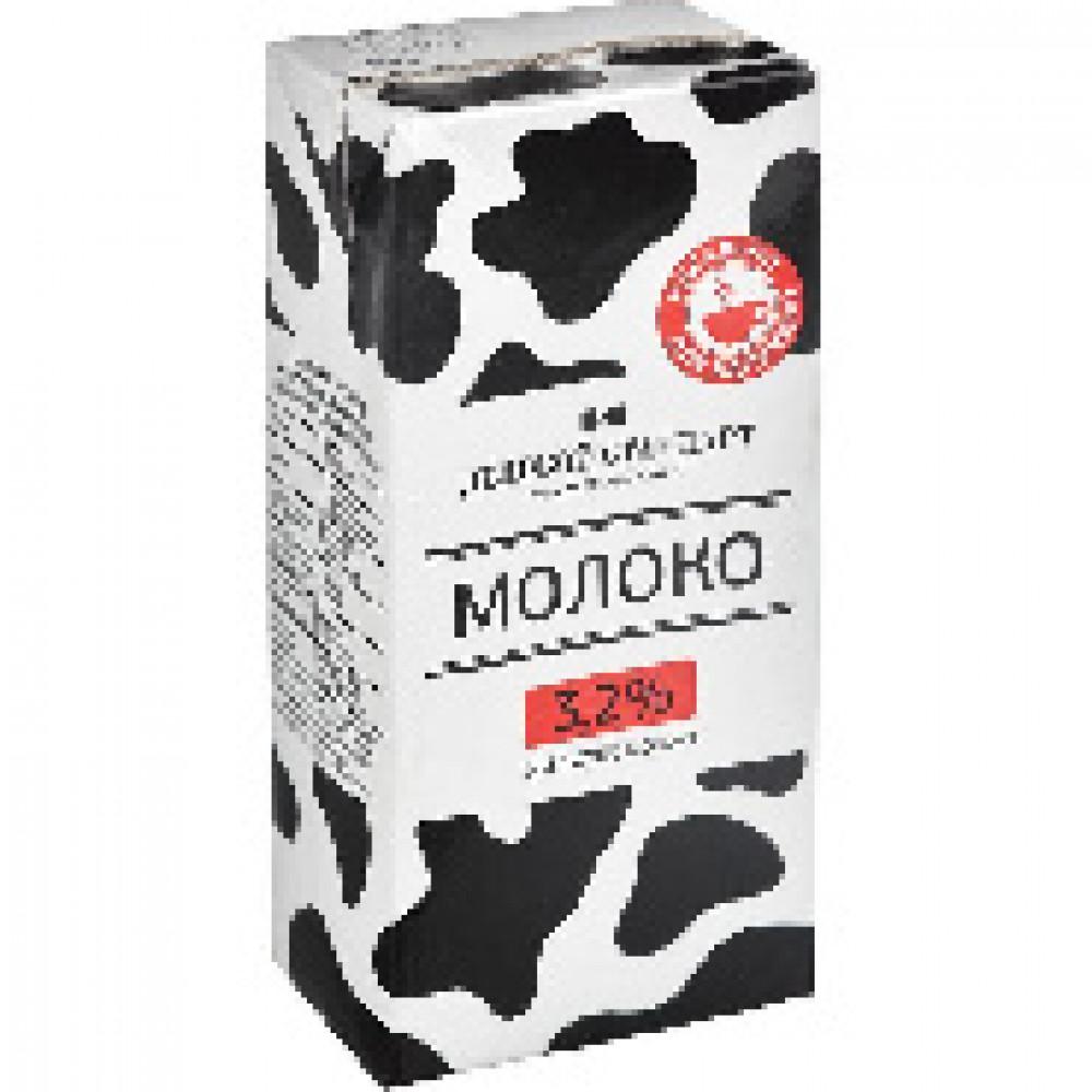 Молоко Деловой стандарт ультрапастер.3,2% без крышки 1 л. 935157