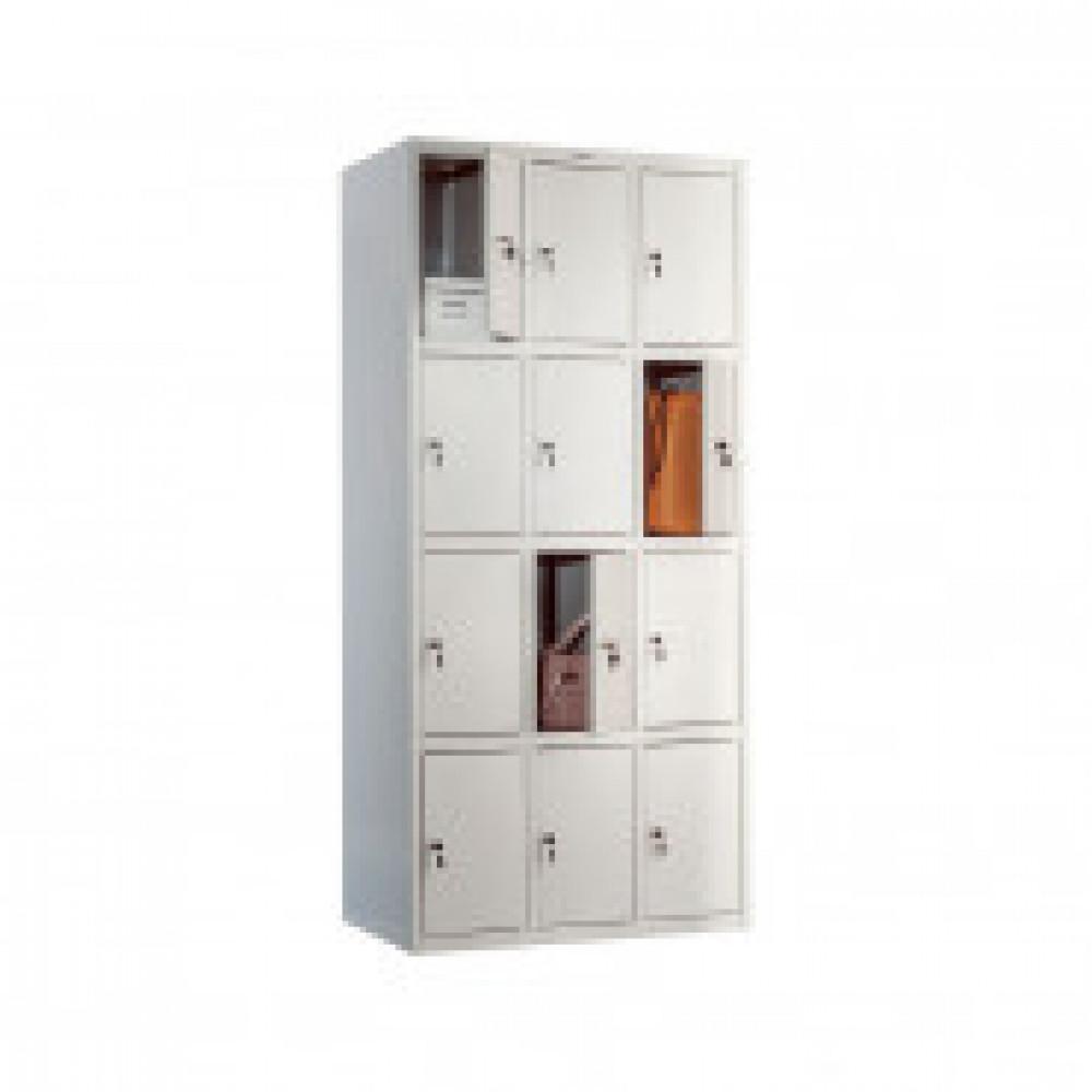 Шкаф для сумок ПРАКТИК LS-34, 12 ячеек., 850х500х1830