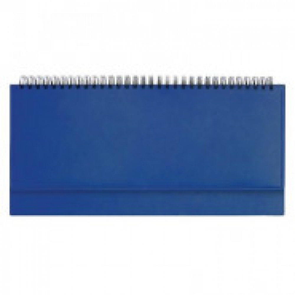 Планинг недат.,синий,290х150, 128стр,Velvet
