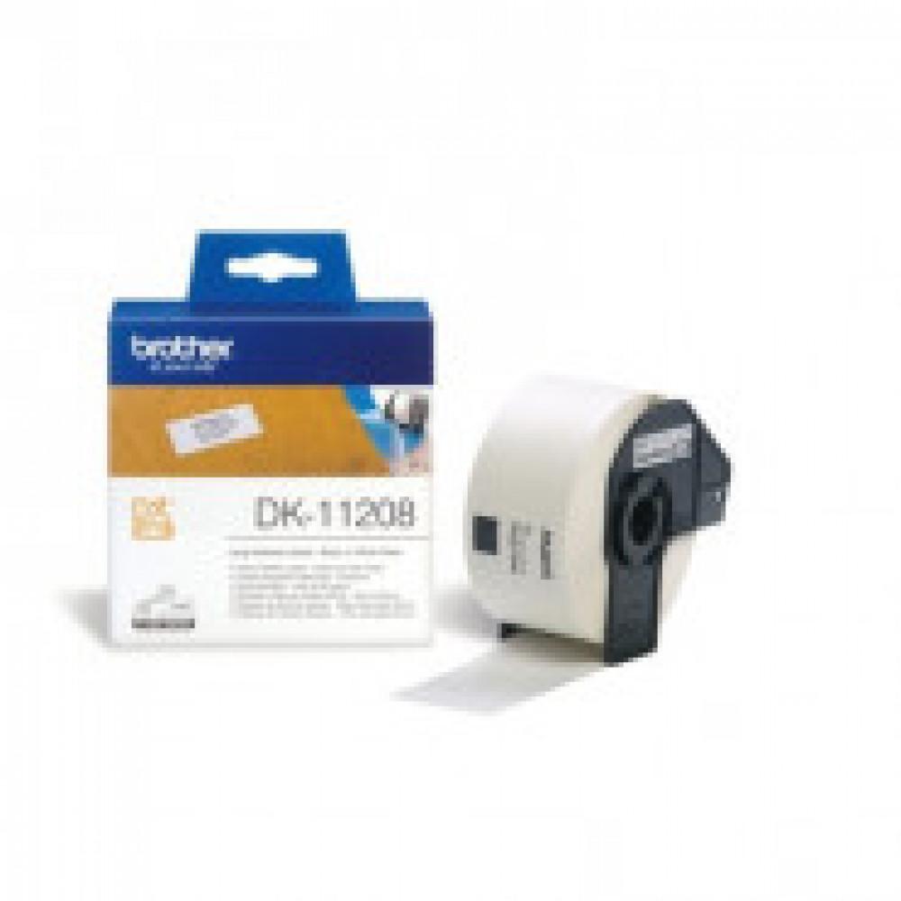 Картридж к этикет-принтеру Brother DK-11208 38х90мм адрес для QL
