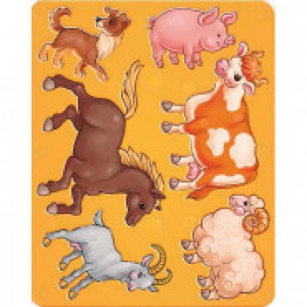 Трафарет Домашние животные Луч,  9C 447-08