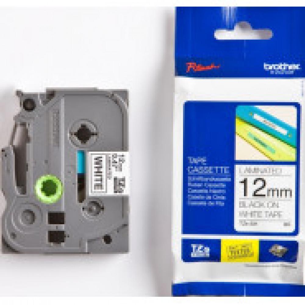 Картридж к этикет-принтеру Brother TZe-231 12ммх8м чер/бел лам. для P-Touch