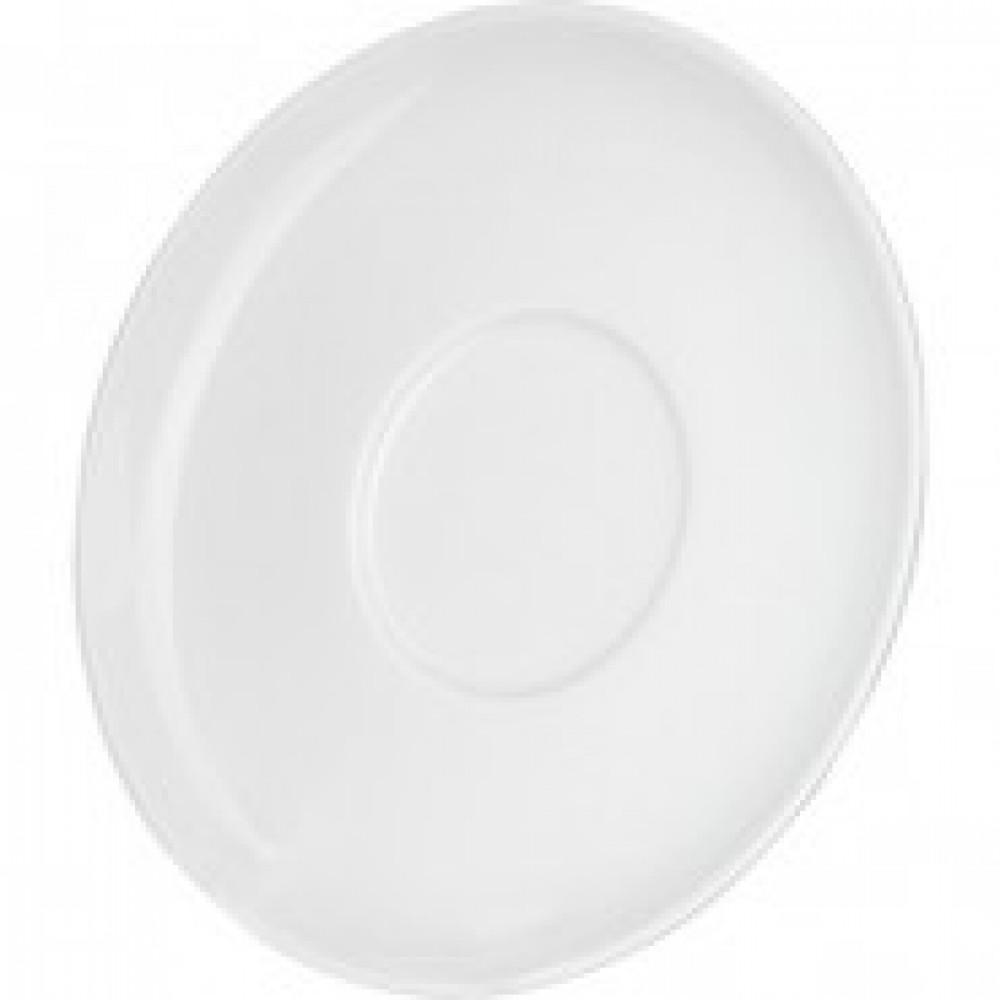 Блюдце Башкирский фарфор белое 145мм (артикул производителя ИБЛ 03.145)