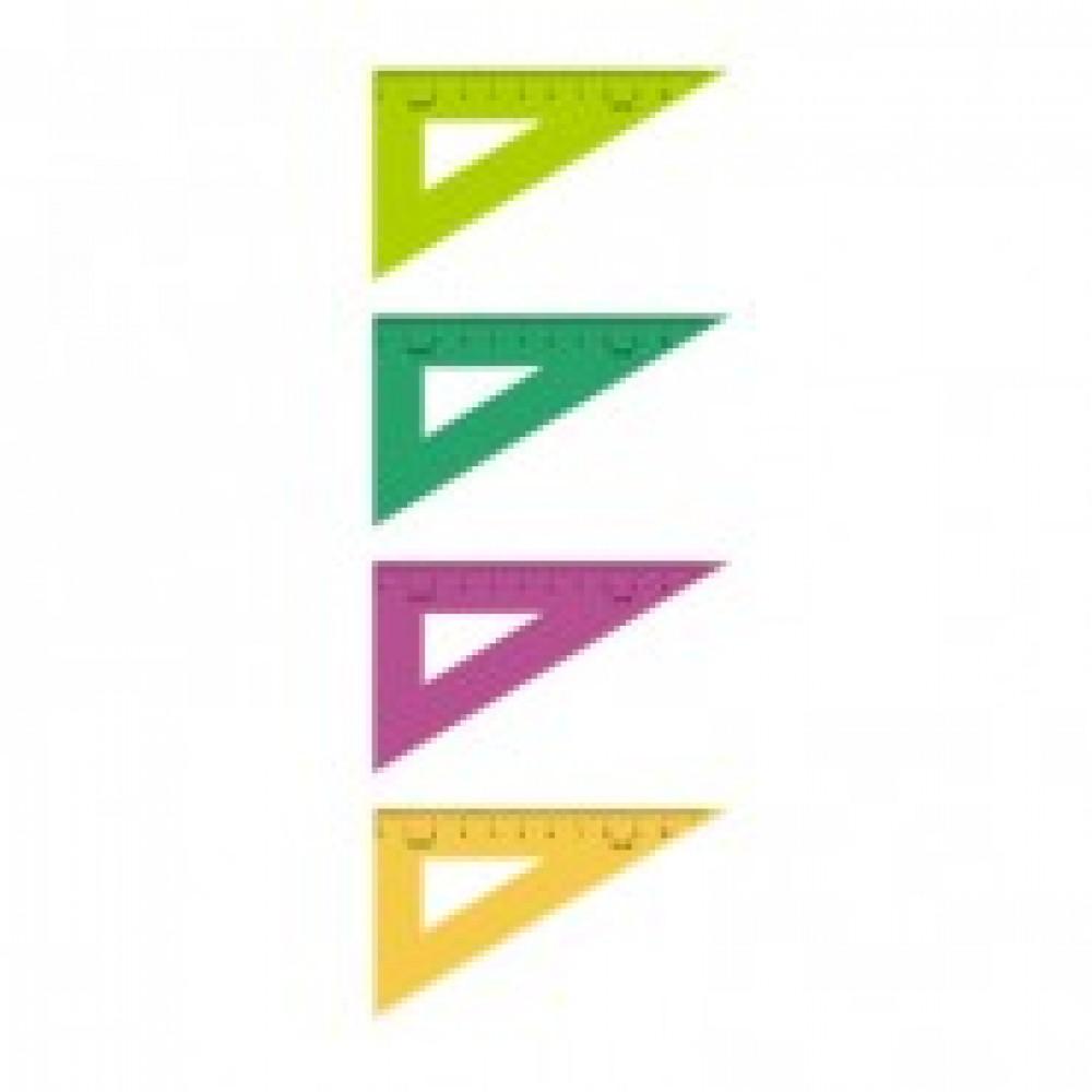 Треугольник 10 см угол 30 градусов пластик ТК-23