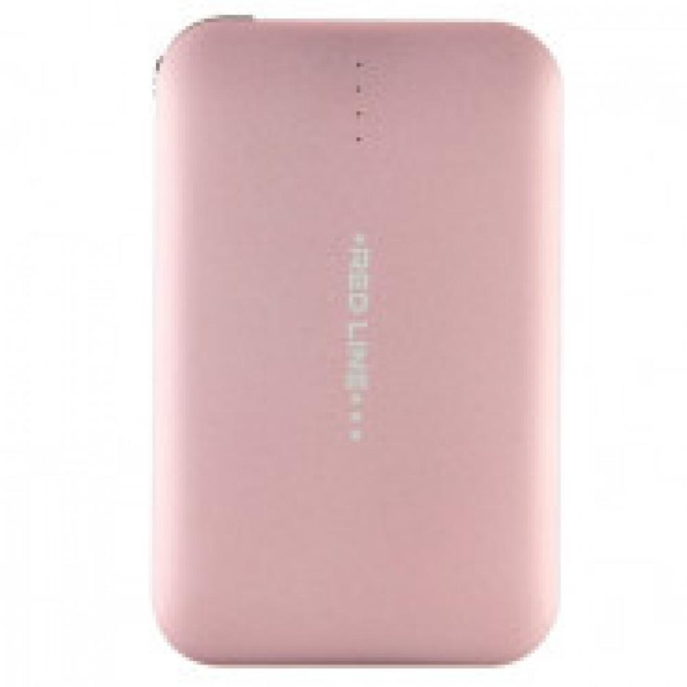 Внешний аккумулятор Red Line B6000 6000 mAh УТ000010564 розовое золото