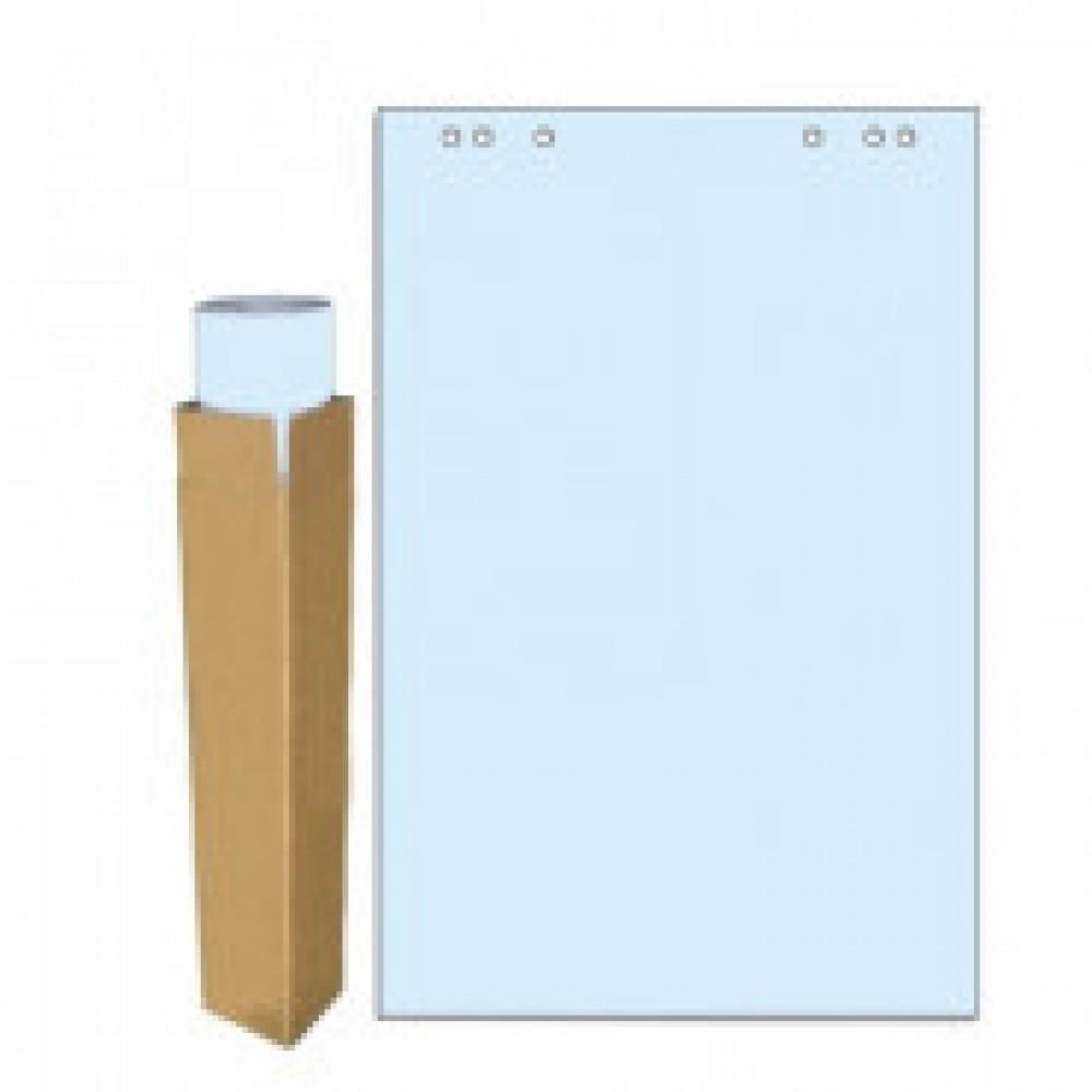 Бумага для флипчартов голубая пастель 68.0х98.0 20 лист.80гр.