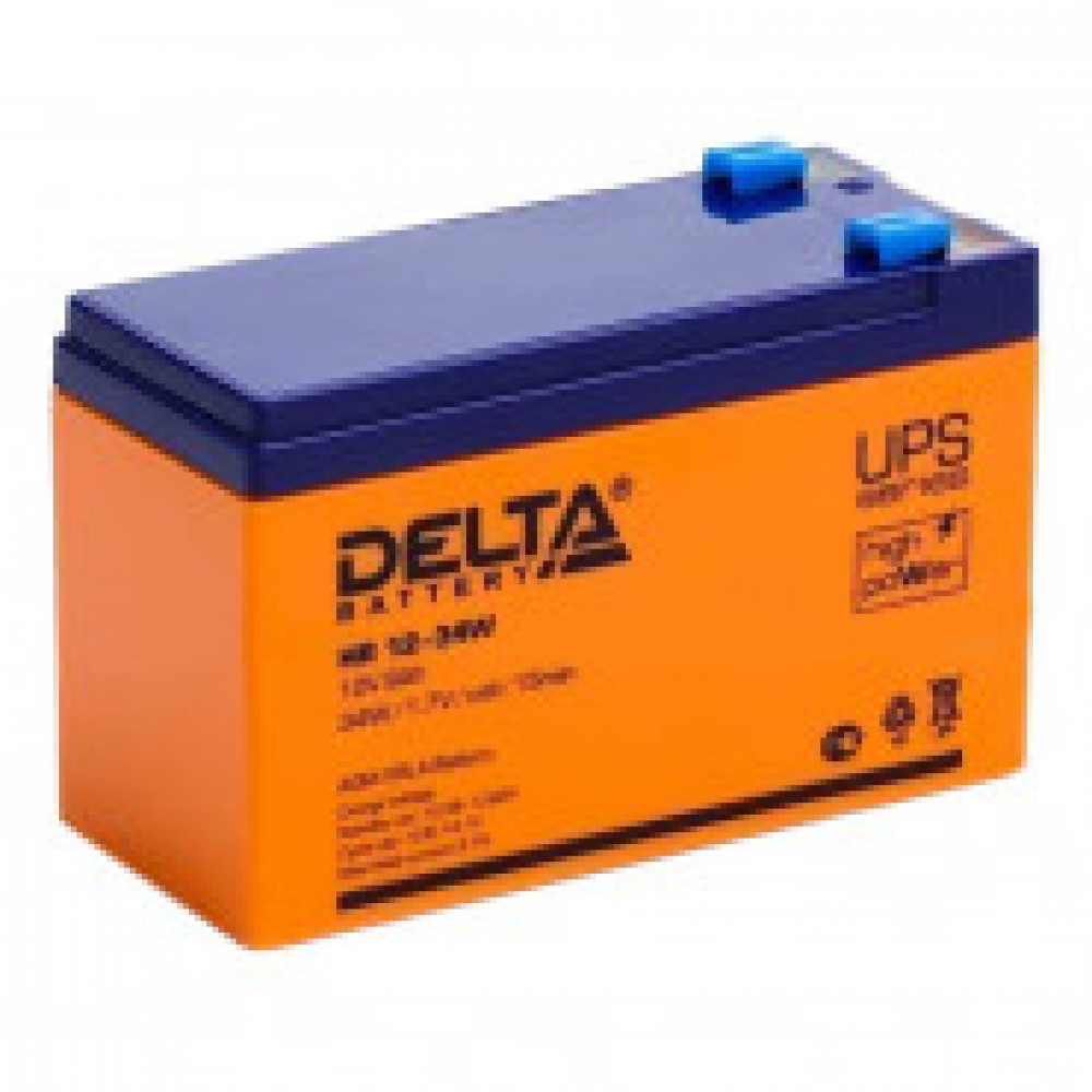 Аккумуляторная батарея Delta HR 12-34W (12V/9Ah)