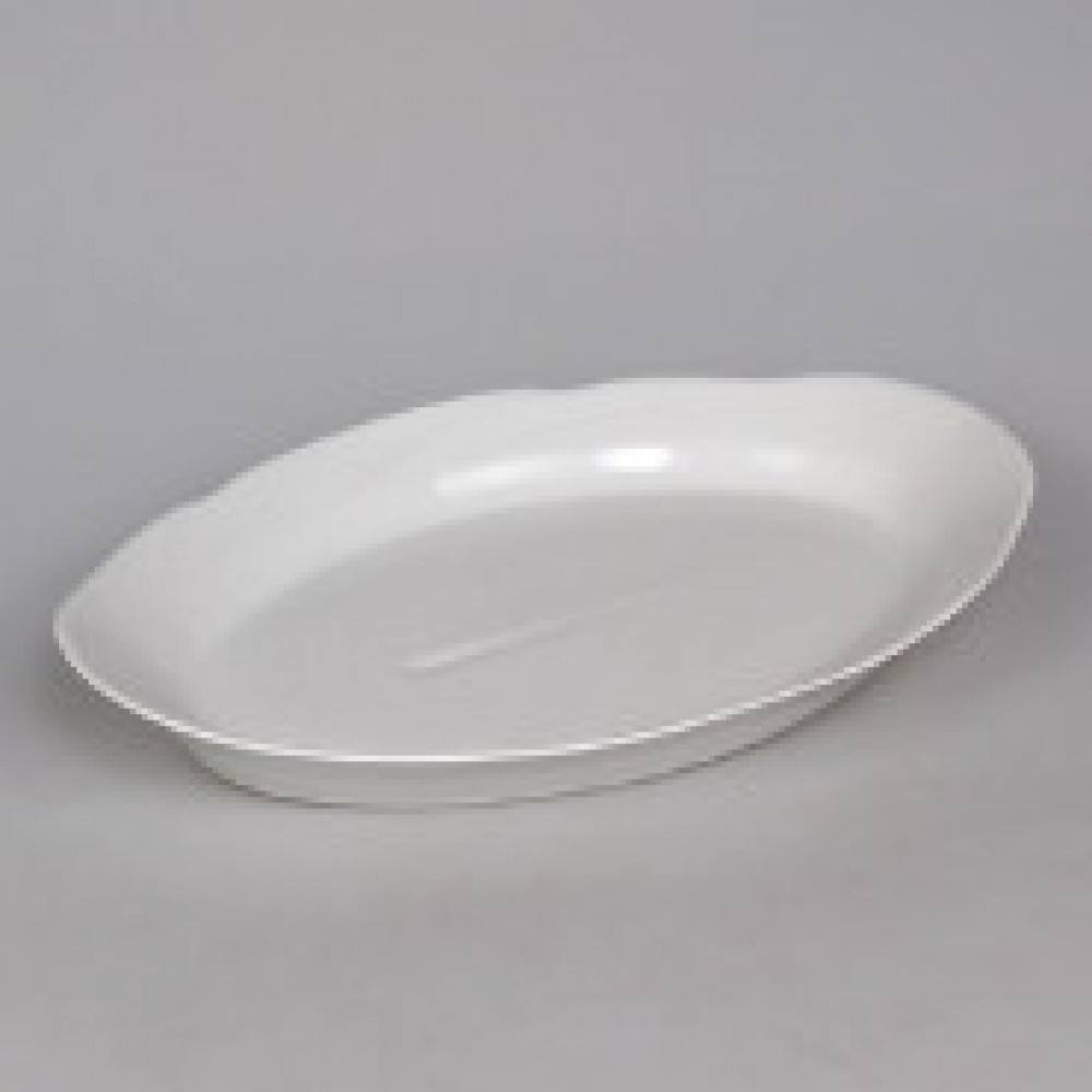 Блюдо овальное фарфор белое 330мм(0С0544Ф34)