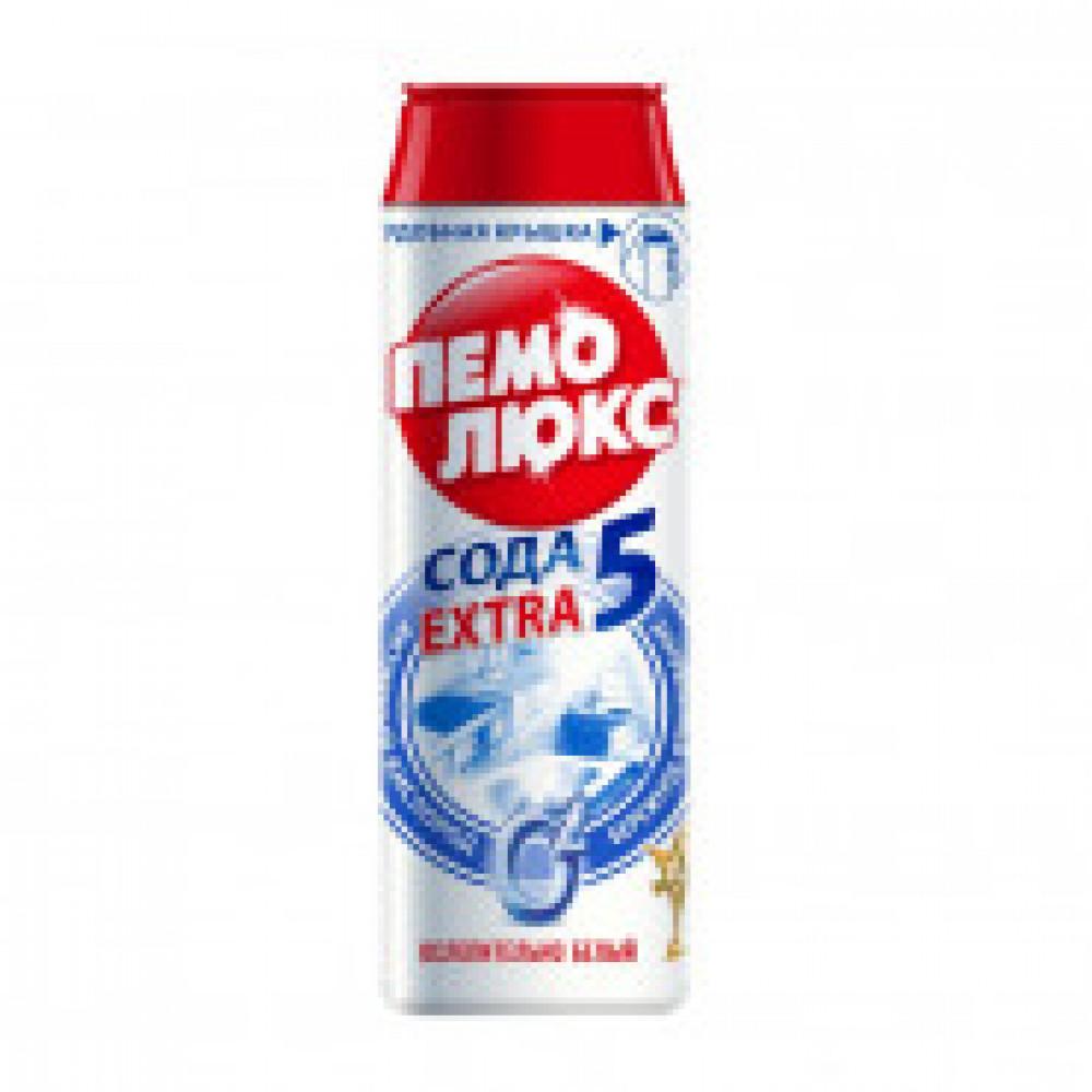 Чистящее средство для кухни ПЕМОЛЮКС ЭКСТРА порош 480г (ослепительно белый)