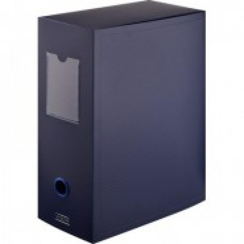 Короб архивный на кнопке Attache 70 мм пластик,синий