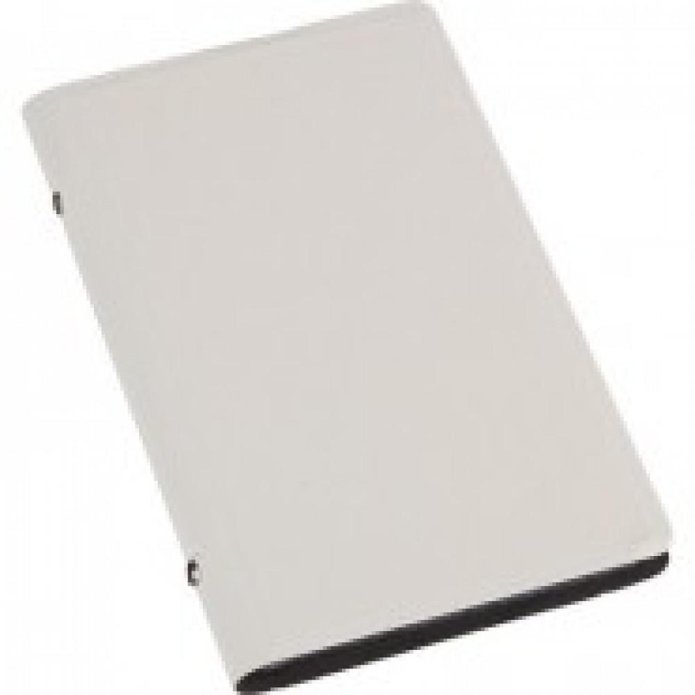 Визитница настольная , 3 кармана, на 96 визиток, PU, белый