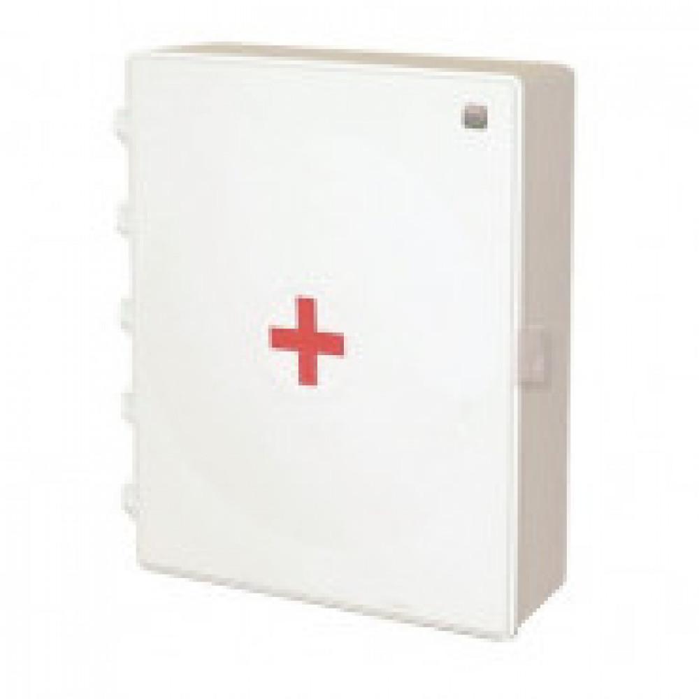 Аптечка первой помощи работникам ФЭСТ (приказ №169н) (пластиковый шкаф)