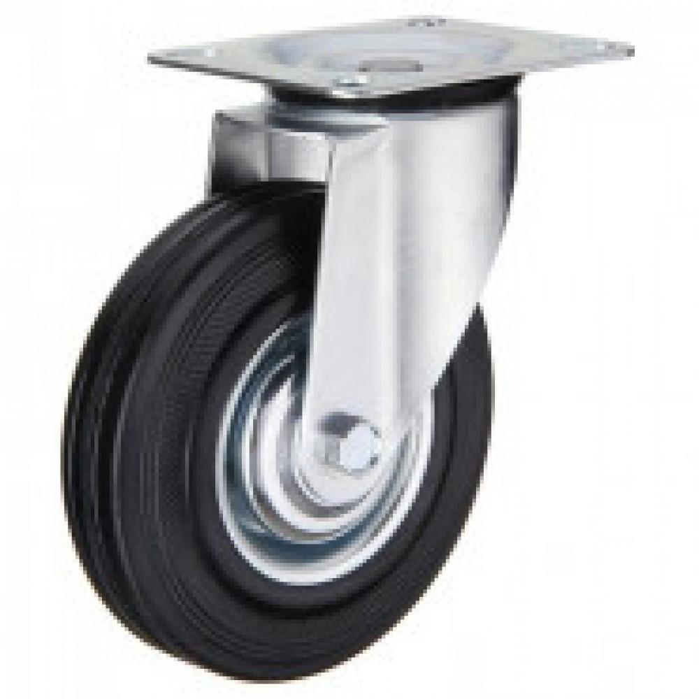 Колесо для тележки поворотное SC 160 без тормоза 160 мм